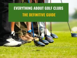 People holding and using Different Types Of Golf Clubs