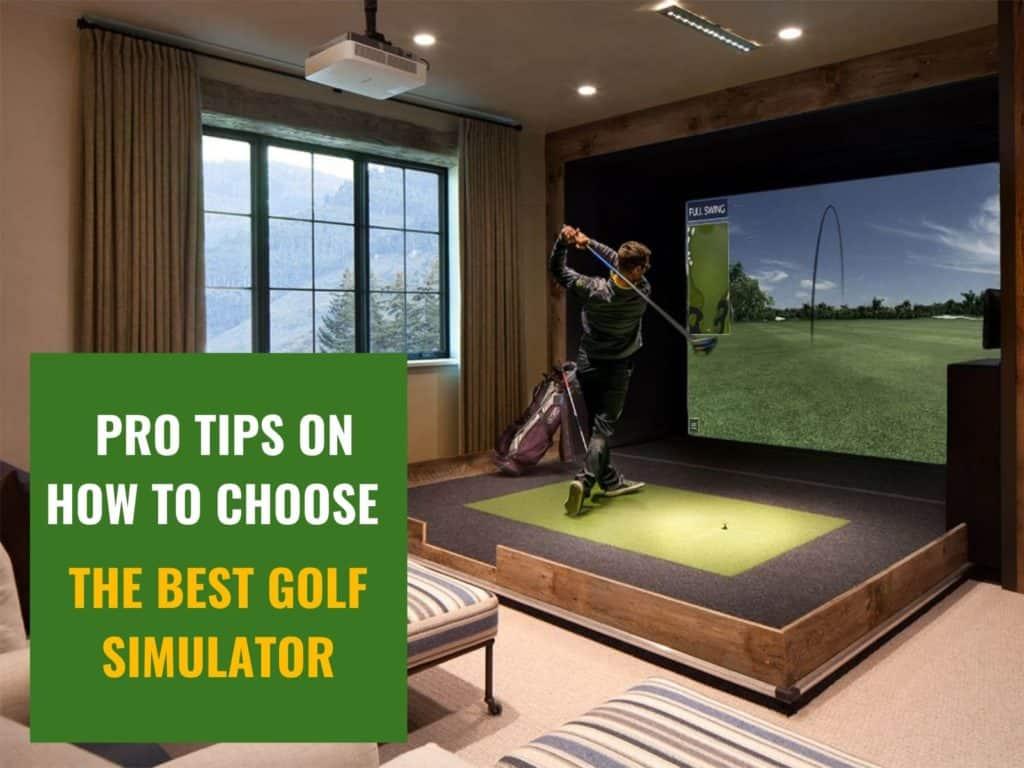Golf simulator guide