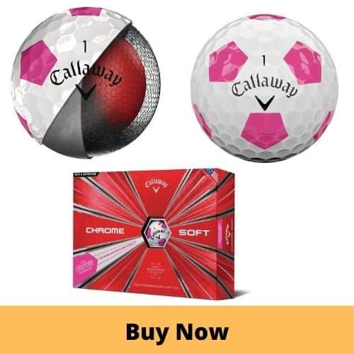 Callaway Golf Chrome Soft Truvis Ball