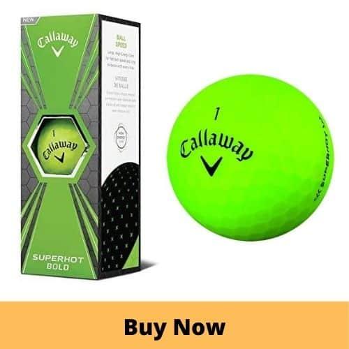 Callaway SuperHot Golf Ball