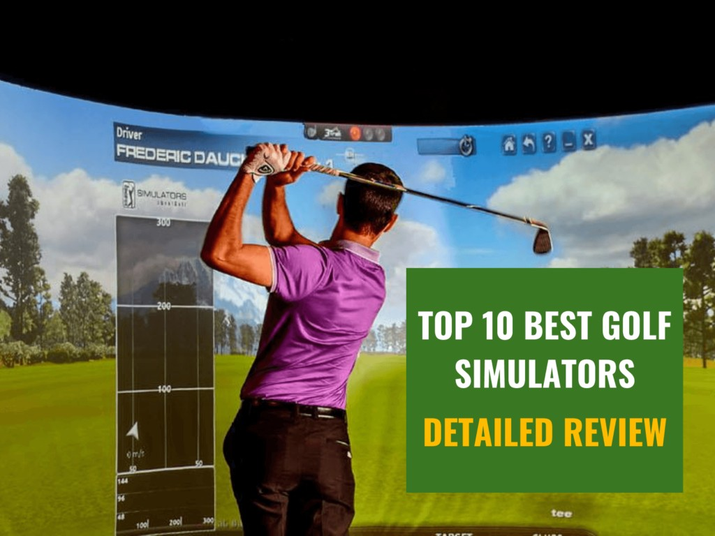 The 10 Best Indoor Golf Simulators, an In-Depth Review