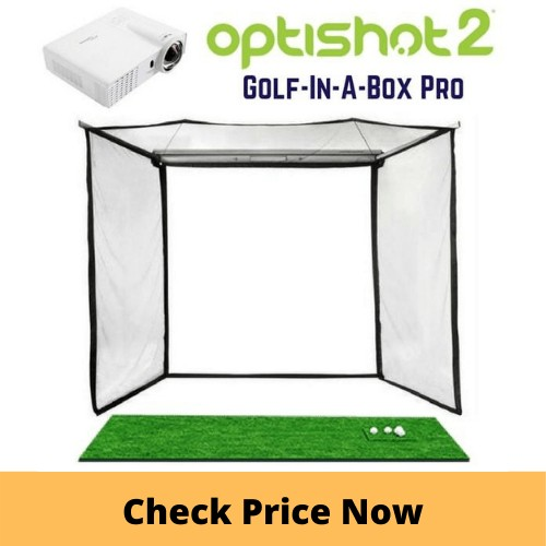 OptiShot 2 Golf In A Box Pro Simulator Package