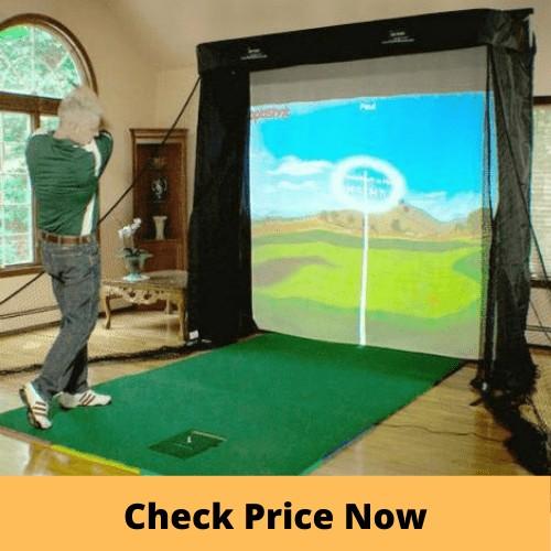 OptiShot 2 Platinum Golf Simulator Series Studio Package