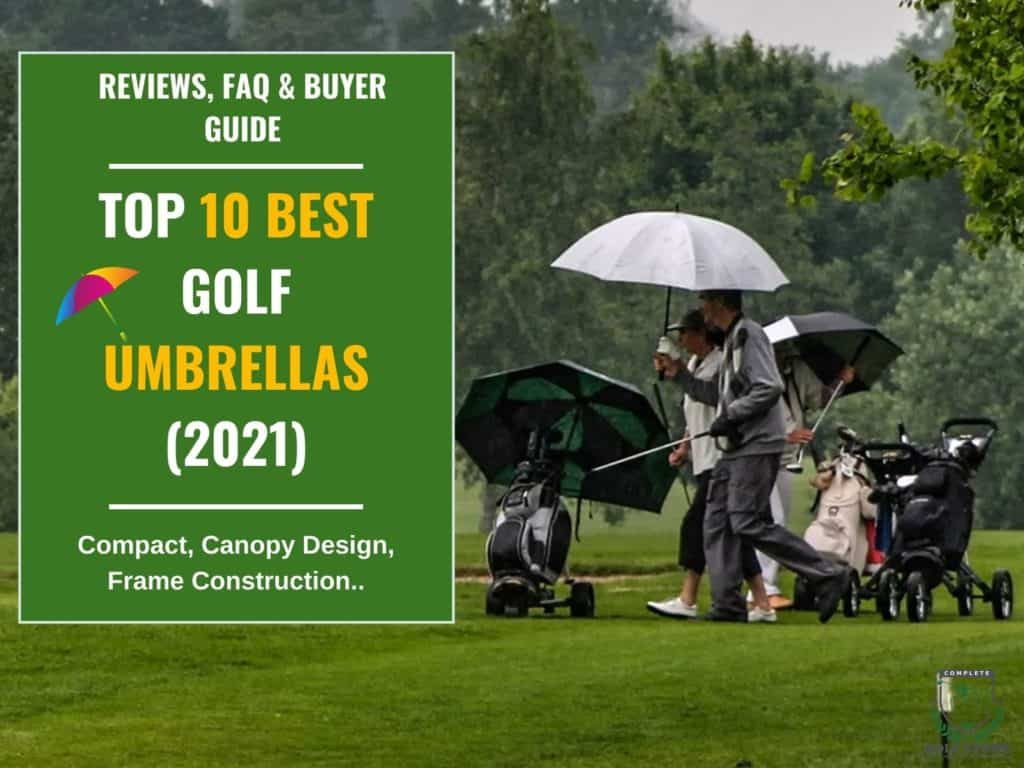 10 Best Golf Umbrellas Reviews and Buyer Guide