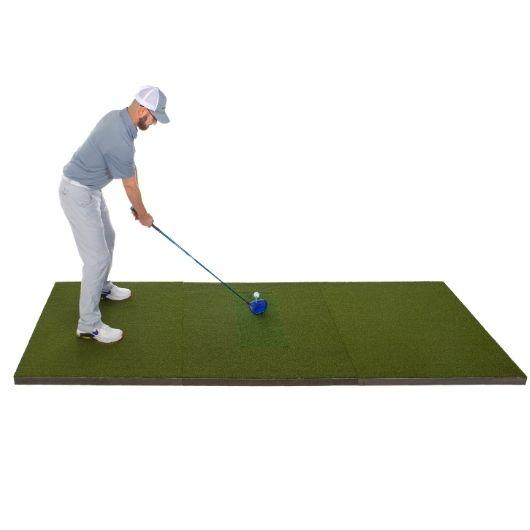 diy golf simulator golf practice mat