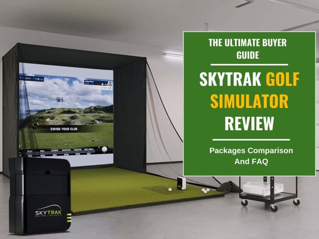 SkyTrak Review: Launch Monitor and Simulator Packages Comparison