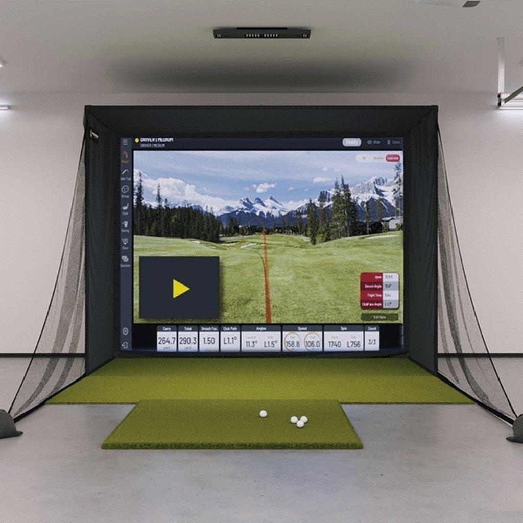 Uneekor EYE XO SIG10 Golf Simulator