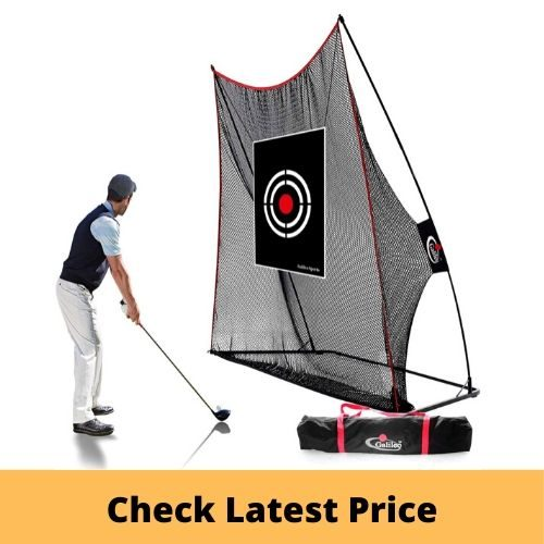 GALILEO Golf Practice Net Driving Range Golf Hitting Nets golf training aid
